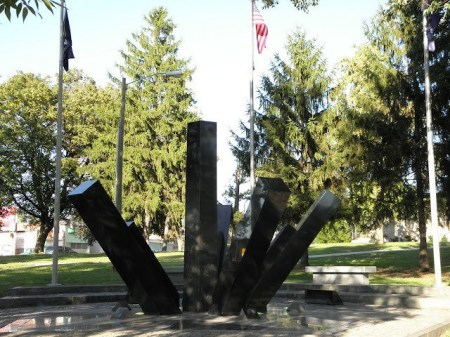 Vietnam Veterans Memorial at South Bend's Howard Park
